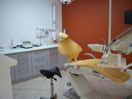 Dentiste rambouillet, la salle de soins